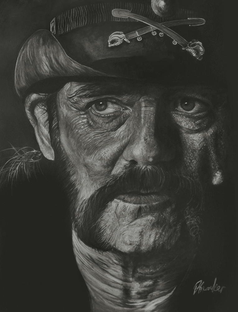 Portrait of Lemmy Kilmister by boonie1974 on Stars Portraits - 1